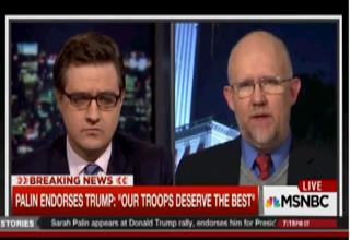 MSNBC Pundit Says Trump Supporters are,