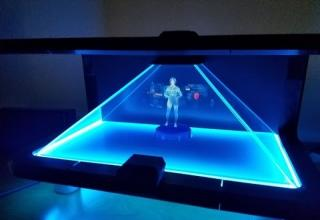 Guy Creates Amazing Cortana Hologram For Home Use