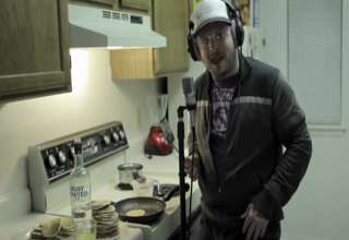 Nerdy white kid KILLS Look at Me Now view on ebaumsworld.com tube online.