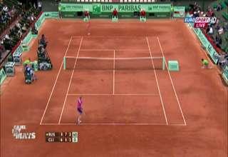 Lucky Tennis Shot