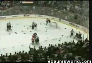 Longest Hockey Fight Ever
