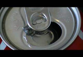 Gallium Eats Soda Can view on ebaumsworld.com tube online.