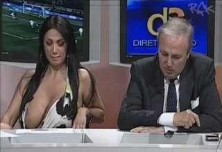 Italian boob slip