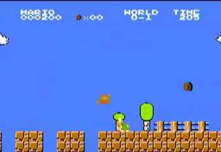 Super Mario Bros. Low score run? view on ebaumsworld.com tube online.