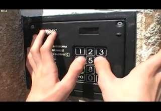Intercom Entrance Panel Musician view on ebaumsworld.com tube online.