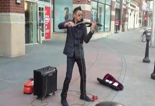 Epic Violinist view on ebaumsworld.com tube online.