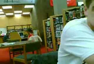 Jamming Out In The Library