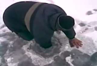Ice Fishing In Russia view on ebaumsworld.com tube online.