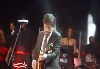 Michael J Fox Playing Johnny B Goode At Parkinsons Research Benefit