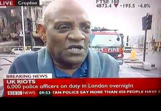London Riots. The BBC will never replay this. Send it out