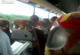 Blow Job On A Bus