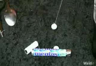 Mentos And Coke Trap view on ebaumsworld.com tube online.