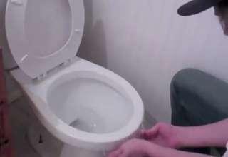 Superb Saran Wrap Over Toilet Bowl Prank Video Ebaums World Pdpeps Interior Chair Design Pdpepsorg