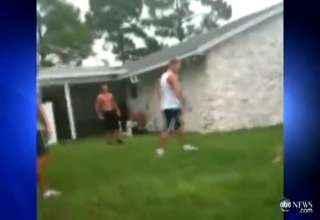 CRAZY: Father Attacks 16yr Old After His Son Gets Beat Up view on ebaumsworld.com tube online.