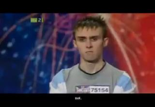 man shoots himself on britains got talent video man shoots