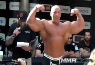 Lithuanian Bodybuilder's Amazing Debut in MMA