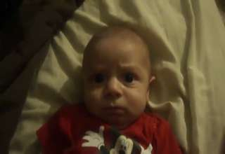 Baby Scared by Mom's Laugh - Video   eBaum's World