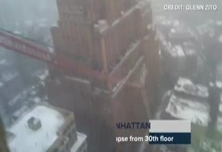 Crane Collapses in Lower Manhattan Killing One Person