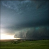 Pictures of a storm that went through Glasgow, Montana on 6/16/07.