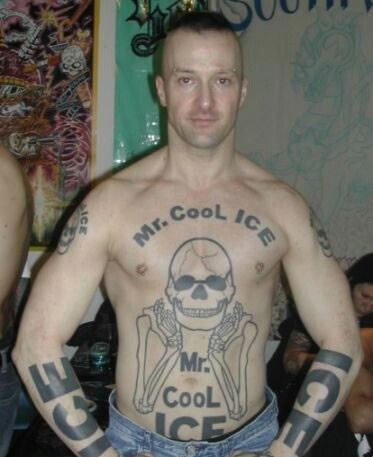 Wow this is a leading candidate for worst tattoo ever.