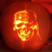 Pumpkins resembling characters and themes from the movies and tv!