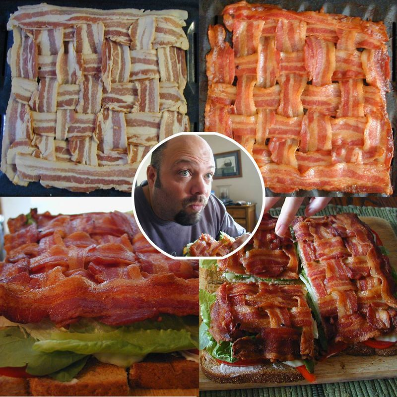 A little overboard with the bacon?
