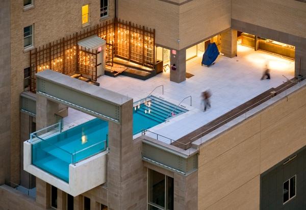 Interesting pool design.