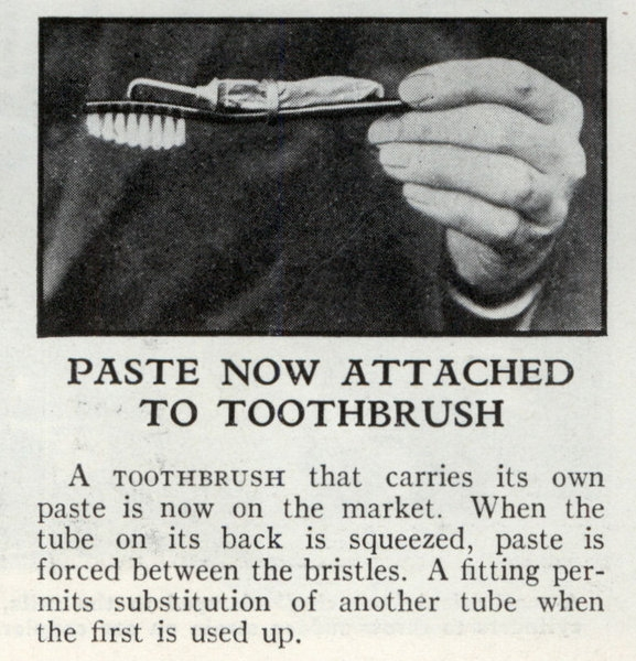 New invention to better your teeth brushing experience.