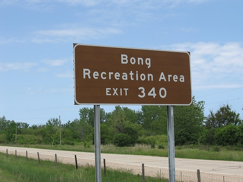 You would have thought it would be located at exit 420.