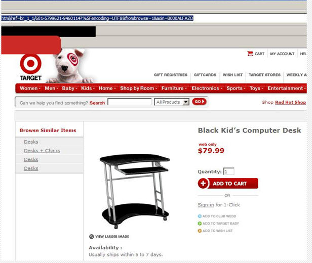 Really Target, that blatantly racist?