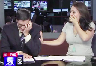 A collection of the best local news bloopers that went viral in 2011