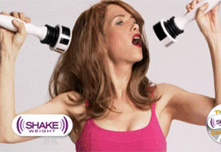 gotta love the shake weight