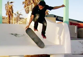 Kilian Martin Skates at an abandoned water park with some amazing tricks.