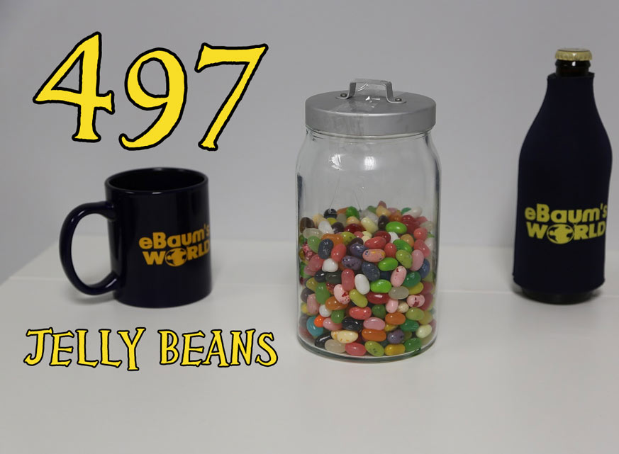 Find out who won, and how many jelly beans were in that jar!