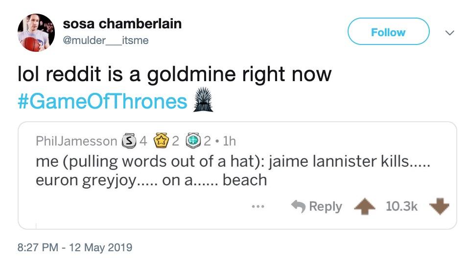 28+ Game Of Thrones Season 8 Spoilers Reddit  Wallpapers