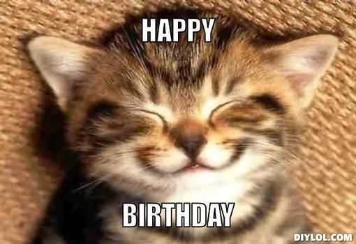 21 Cat Birthday Memes That Are Absolutely Purrrrfect - Funny