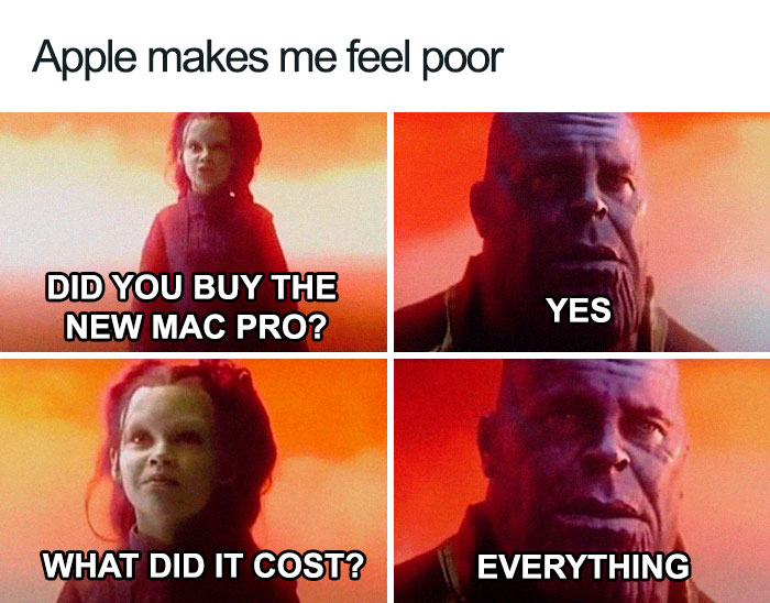 31 Funny Apple Pro Stand Memes That Will Save You $999 - Wow