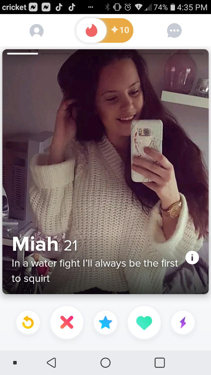 Tinder profiles hot 20 Tinder