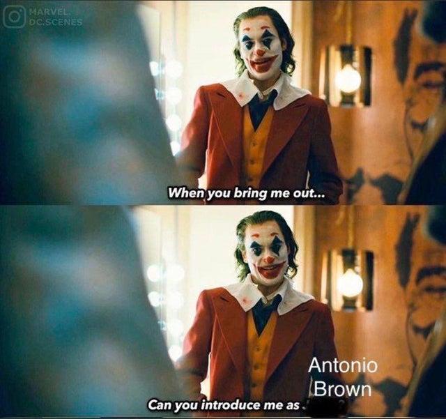 Antonio Brown Memes >> 20 Funny Antonio Brown Memes After His Epic Meltdown Funny