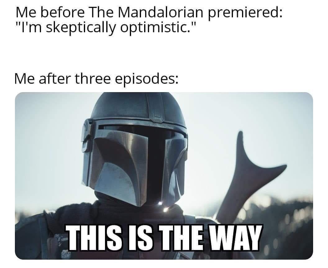 Image result for Mandalorian memes