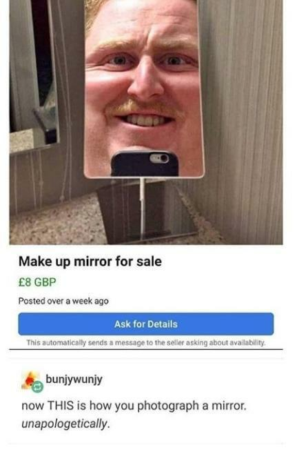 make up mirror for sale - now this is how you photograph a mirror