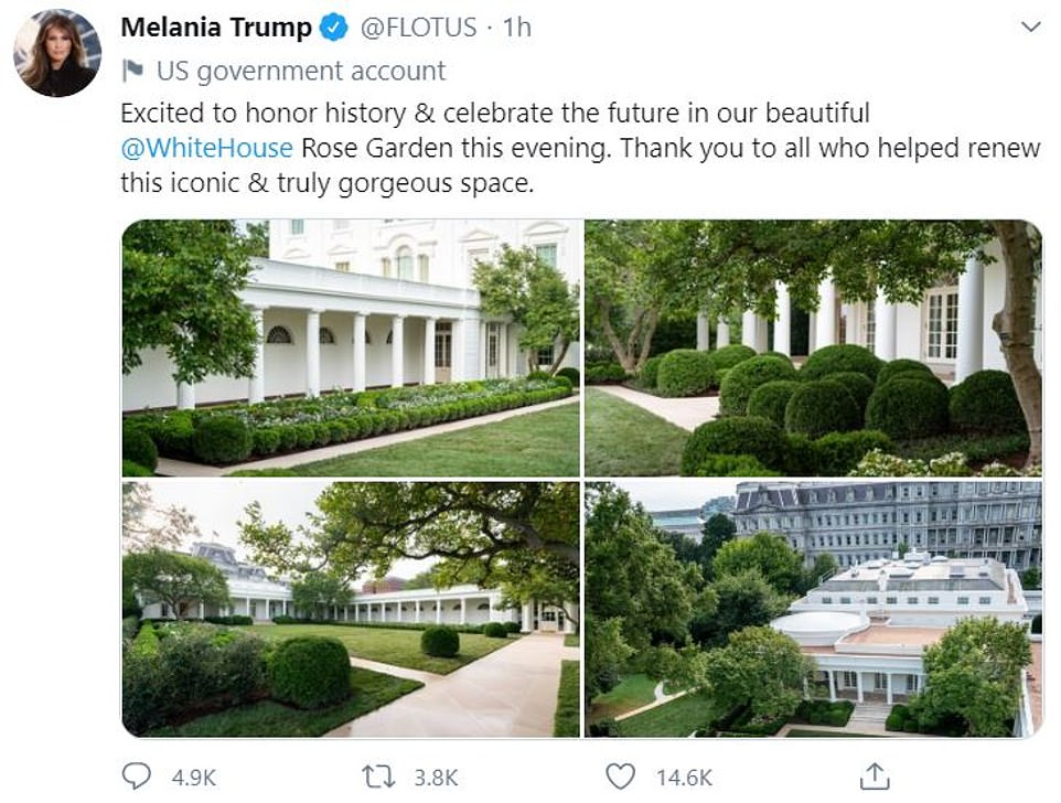 The Internet Reacts To The Rose Garden Remodel Funny Gallery