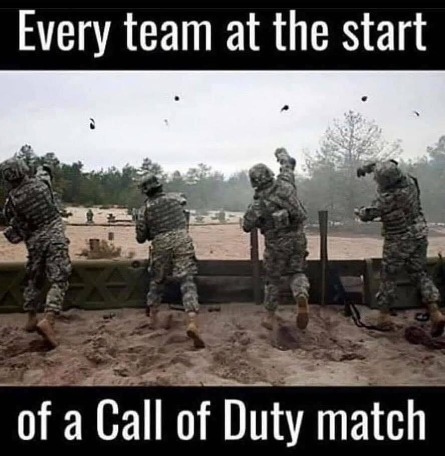 call of duty gaming meme