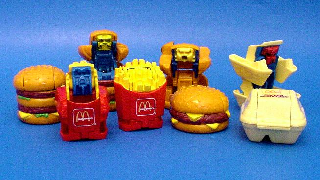 Happy Meal Toys From The 80s And 90s