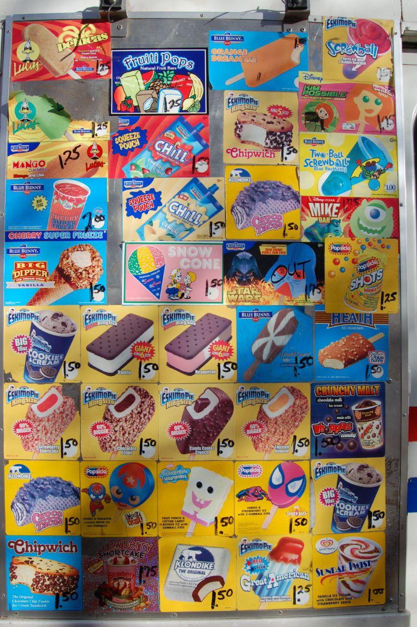 Ice Cream Truck Menus Gallery Ebaum S World