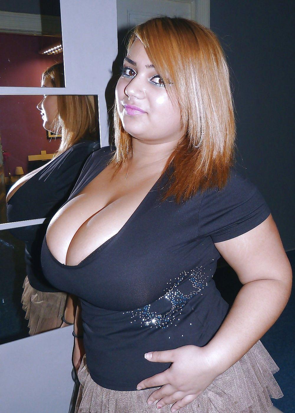 Fat Girl Small Tits