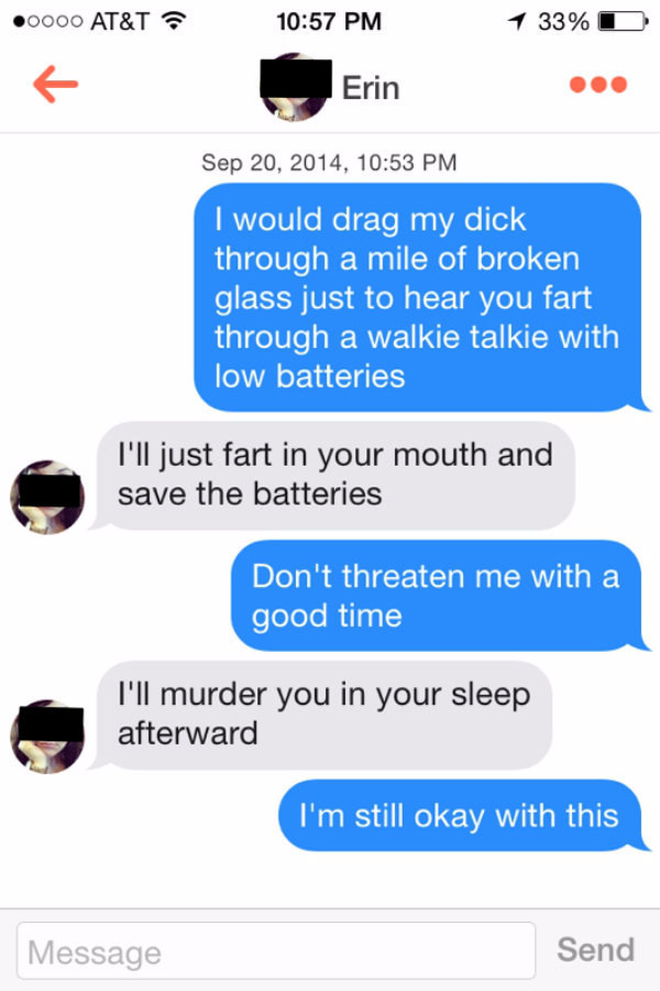 dating text fails