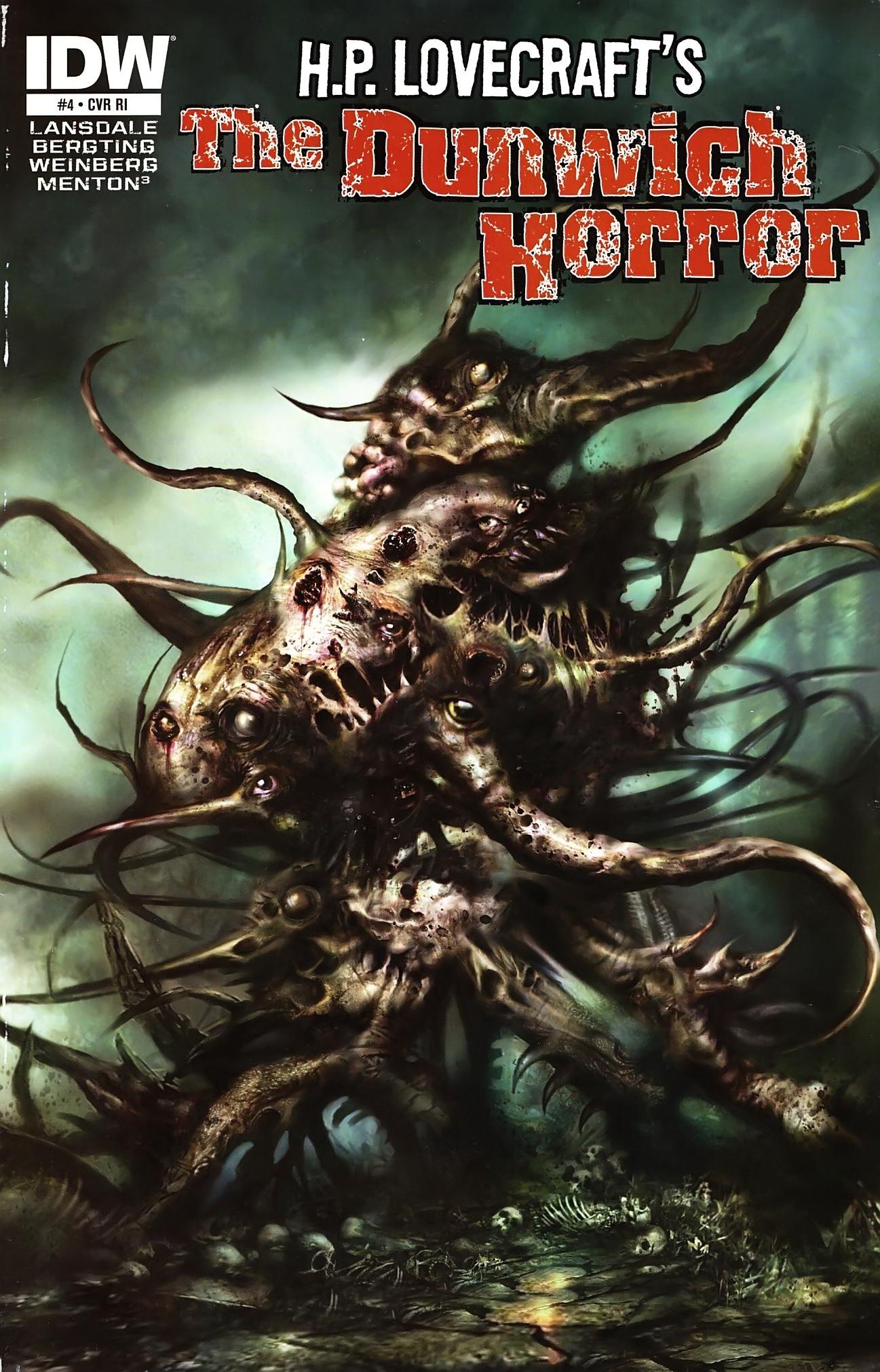 The Dunwich Horror   Lovecraftian horror, The dunwich
