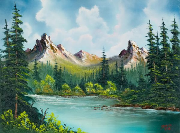 Bob Ross A Gallery Of His Paintings Gallery Ebaum S World