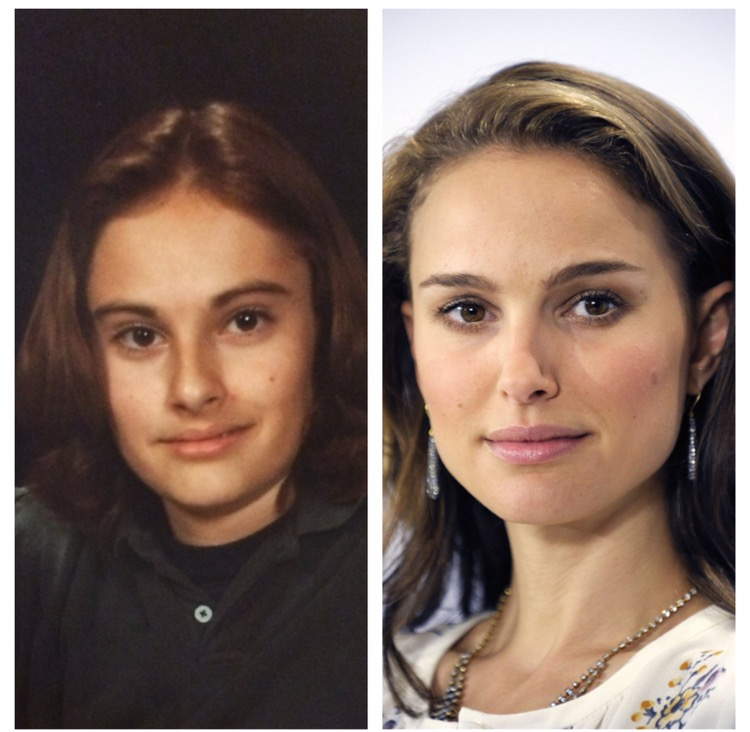 Guy's picture from when he was 13 looks JUST like Natalie Portman.